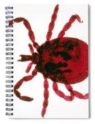 Tick Spiral Notebook