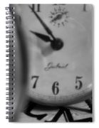 Tick Tock Goes The Clock Spiral Notebook