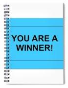 Ticket Blue Spiral Notebook