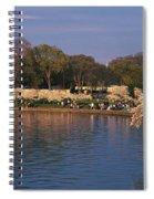 Tidal Basin Washington Dc Spiral Notebook