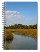 Tidal Creek Ebb And Flow Spiral Notebook