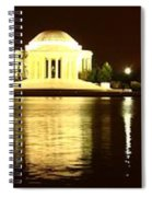 Tidal Pool Panorama Spiral Notebook