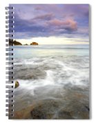 Tide Covered Pavement Spiral Notebook