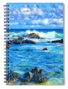 Tide Pool Near Hana Maui Spiral Notebook