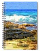 Tide Pools At Magic Sands Spiral Notebook