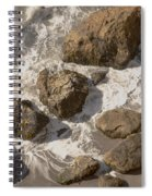 Tide Pools Of Shell Beach California Spiral Notebook