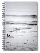 Tide Rolling In Spiral Notebook