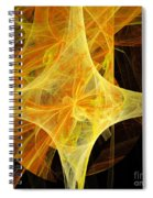 Tie A Yellow Ribbon Spiral Notebook