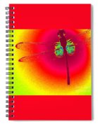 Tie Dye Dragonfly Spiral Notebook