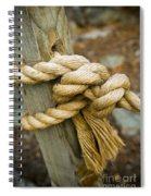 Tie The Knot Spiral Notebook