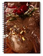 Tied With A Ribbon Spiral Notebook
