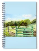 Tiffany Farms East Gate Spiral Notebook
