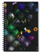 Tiffany Floral Design Spiral Notebook