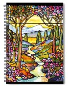 Tiffany Landscape Window Spiral Notebook