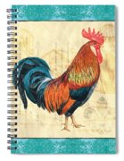 Tiffany Rooster 1 Spiral Notebook