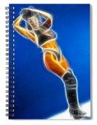 Tiffany Superman 1 Fractal Spiral Notebook