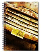 Tiger Country Old School Spiral Notebook