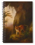 Tiger In A Cave Spiral Notebook