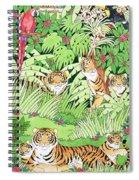 Tiger Jungle Spiral Notebook