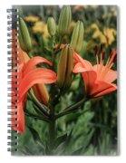 Tiger Lillies Spiral Notebook