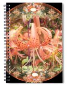 Tiger Lily Sphere Spiral Notebook