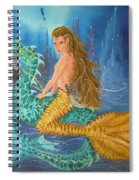 Tiger Lily Tails Spiral Notebook