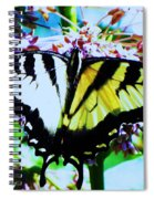 Tiger Swallowtail Butterfly  Spiral Notebook
