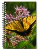Tiger Swallowtail Digital Art Spiral Notebook