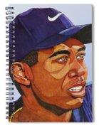 Tiger Woods Spiral Notebook