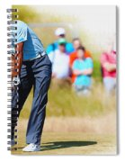 Tiger Woods - The British Open Golf Championship Spiral Notebook