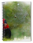 Tiger Woods - The Chevron World Challenge Spiral Notebook