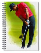 Tiger Woods - The Honda Classic Spiral Notebook