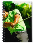 Tiger Woods - Wgc- Cadillac Championship Spiral Notebook