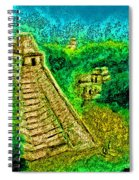 Tikal By Jrr Spiral Notebook