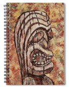Tiki God Spiral Notebook