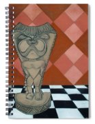Tiki Statue Art Spiral Notebook