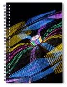 Tilt A Whirl Spiral Notebook