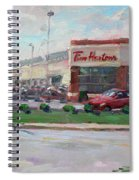 Tim Hortons By Niagara Falls Blvd Where I Have My Coffee Spiral Notebook