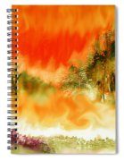 Timber Blaze Spiral Notebook