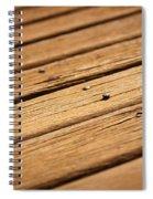 Timber Decking Spiral Notebook