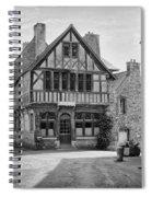 Timber Framed Houses In France Spiral Notebook