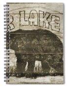Timber Lake Lodge Spiral Notebook