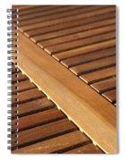 Timber Slats Spiral Notebook
