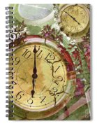 Time 5 Spiral Notebook