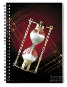 Time And Space Spiral Notebook