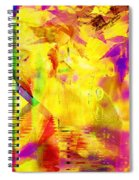 Time As An Abstract Spiral Notebook
