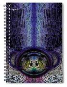 Time Blast Spiral Notebook