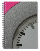 Time Clicks On Spiral Notebook