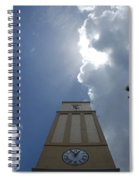 Time Clouds Spiral Notebook