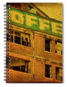 Time For Coffee Spiral Notebook